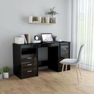 Písací stôl so zásuvkami a skrinkou 140x50 cm Dekorhome