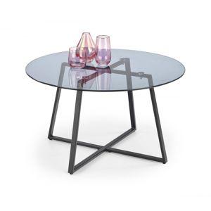 Konferenčný stolík ZELDA sklo / čierna Halmar