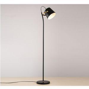 Stojaca lampa CINDA Typ 3 čierna / bronz Tempo Kondela