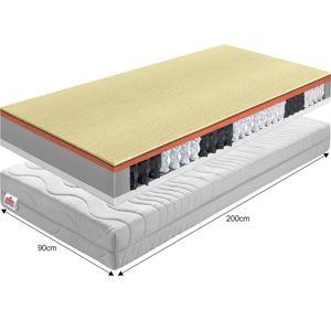 Pružinový matrac PALMEA NEW Tempo Kondela 90x200 cm