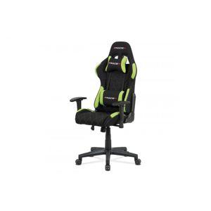 Kancelárska stolička KA-V606 látka / plast Autronic Zelená
