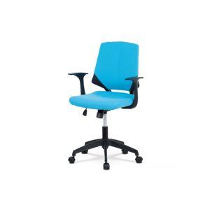 Kancelárska stolička KA-R204 BLUE modrá / čierna Autronic