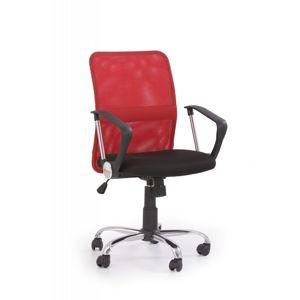 Kancelárska stolička TONY Halmar Červená
