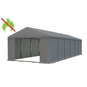 Skladový stan 6x12m sivá PROFI - nehorľavý