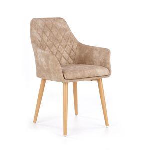 Jedálenská stolička K287 Halmar béžová