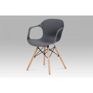 Jedálenská stolička ALBINA GREY sivá Autronic