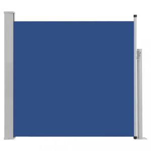 Zaťahovací bočná markíza 170x300 cm Dekorhome Modrá