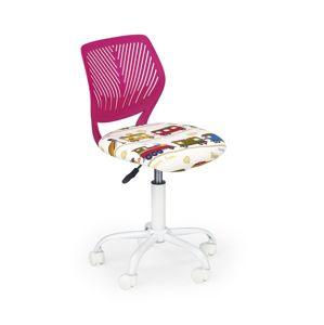 Detská stolička BALI ružová Halmar