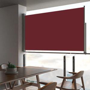 Zaťahovací bočná markíza 140x300 cm Dekorhome Červená