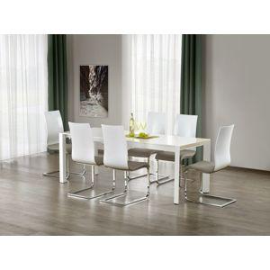 Jedálenský stôl rozkladací STANFORD XL biely Halmar