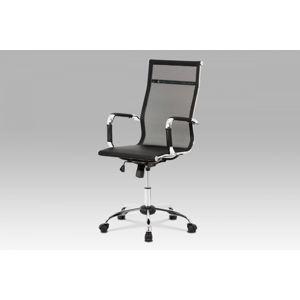 Kancelárska stolička KA-V303 BK čierna Autronic