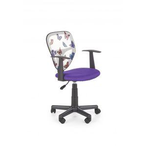 Detská stolička SPIKER Halmar Fialová