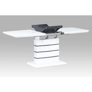 Jedálenský rozkladací stôl HT-410 Autronic Biela