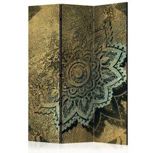 Paraván Golden Treasure Dekorhome 135x172 cm (3-dielny)