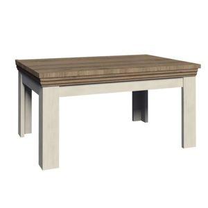 Jedálenský stôl rozkladací 160/203 ROYAL ST sosna nordická / dub divoký Tempo Kondela