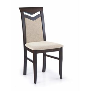 Jedálenská stolička CITRONE Halmar wenge