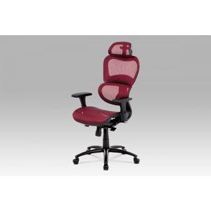 Kancelárska stolička KA-A188 RED červená Autronic