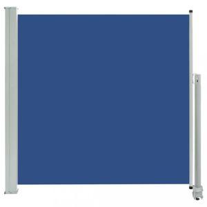 Zaťahovací bočná markíza 160x300 cm Dekorhome Modrá