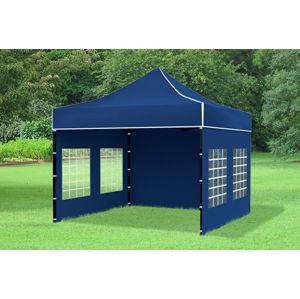 Záhradný stan 3x3m modrá EKONOMY