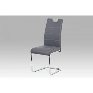 Jedálenská stolička HC-481 Autronic Sivá