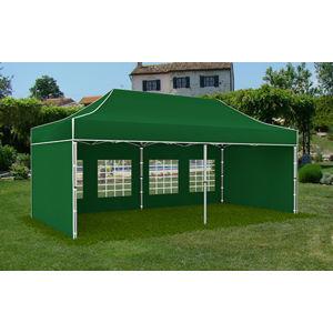 Záhradný stan 3x6m zelená PROFI