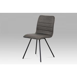 Jedálenské stoličky CT-111 látka / kov  Autronic Sivá