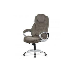 Kancelárska stolička KA-G196 látka / plast AUTRONIC Tmavosivá