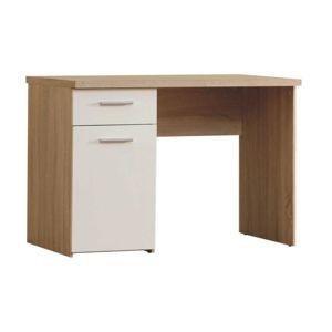 Písací stôl WINIE WNB935 dub / biela