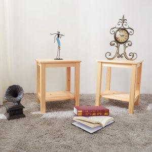 Nočný stolík FOSIL drevo / prírodná Tempo Kondela