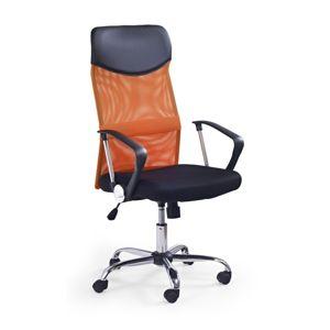 Kancelárska stolička VIRE Halmar Oranžová