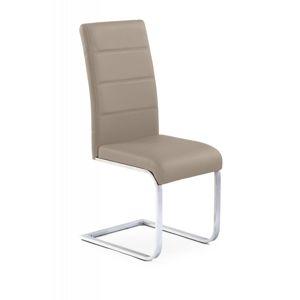 Jedálenská stolička K85 Halmar cappuccino