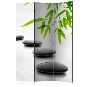 Paraván Zen Stones Dekorhome 135x172 cm (3-dielny)