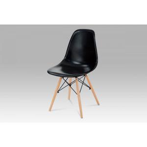 Jedálenská stolička CT-718 BK1 čierna Autronic