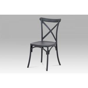 Jedálenská stolička CT-830 GREY sivá Autronic