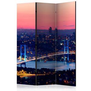 Paraván Bosphorus Bridge Dekorhome 135x172 cm (3-dielny)