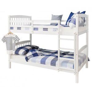 Poschodová rozložiteľná posteľ RAVELO biela Tempo Kondela