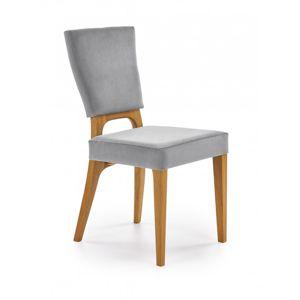 Jedálenská stolička WENANTY Halmar Sivá