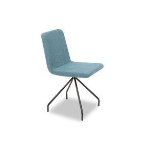 Jedálenská stolička mentolová / čierná Tempo Kondela