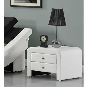 Nočný stolík WILSON biela Tempo Kondela