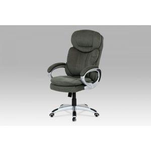 Kancelárska stolička KA-G198 GREY2 sivá látka / strieborná Autronic
