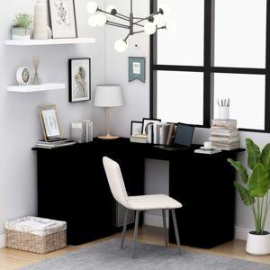 Rohový písací stôl so zásuvkami 145x100 cm Dekorhome