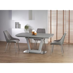Jedálenský stôl BILOTTI rozkladací 160/200 svetlosivá Halmar