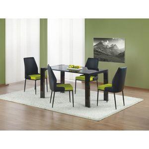 Jedálenský stôl KEVIN čierna Halmar