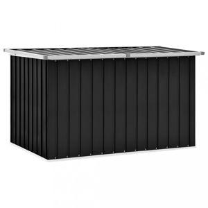 Záhradný úložný box 149x99x93 cm oceľ Dekorhome Antracit