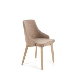 Jedálenská stolička TOLEDO Halmar dub sonoma/světlá hnědá